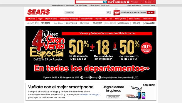 Sears: opiniones y comentarios