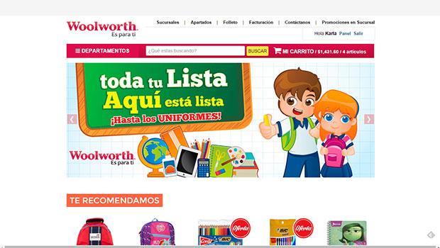 Nuevo sitio de Woolworth: opiniones y comentarios