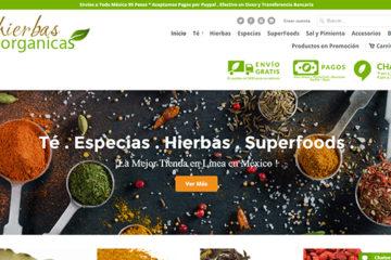 Hierbas orgánicas: opiniones y comentarios