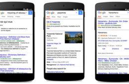Google ya tiene más búsquedas en móviles que en desktop