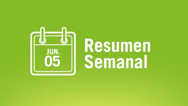 Resumen semanal 5 Junio 15