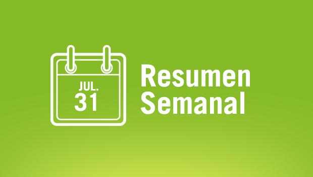 Resumen de noticias 31/07/15