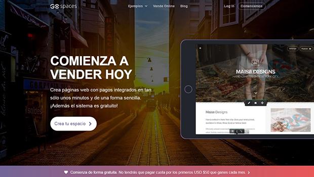 Cómo crear tu tienda en línea gratis con Gospaces