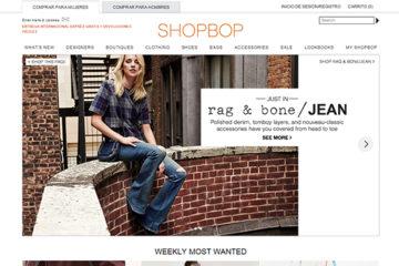 Shopbop: opiniones y comentarios