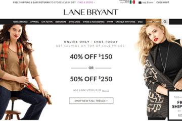 Lane Bryant: opiniones y comentarios