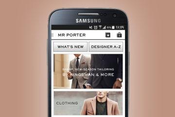 App Mr. Porter: opiniones y comentarios