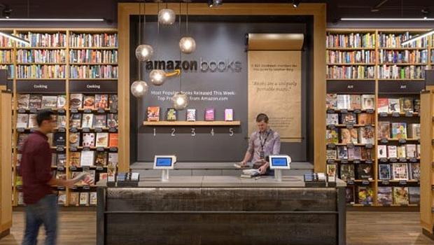 Amazon abre su primera librería física