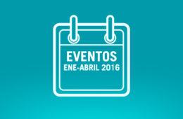 Eventos de eCommerce y Marketing del 1er. Cuatrimestre de 2016