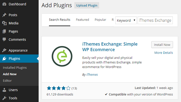 Plugins de Wordpress eCommerce más sencillo