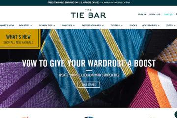 The Tie Bar: opiniones y comentarios