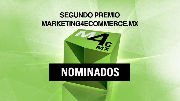 Los Nominados al 2o. Premio Mkt4eCommerce México