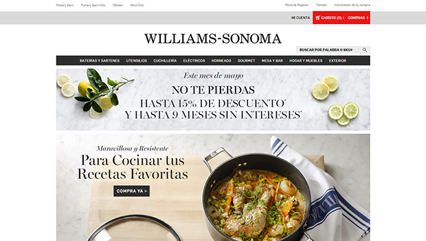 Williams Sonoma: opiniones y comentarios