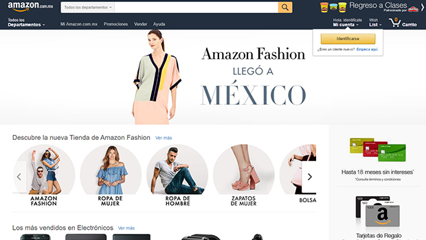 Lanzan Amazon Fashion en México 2f1d29830db