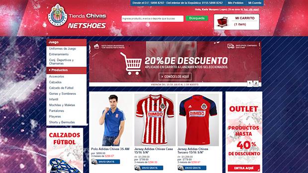 Tienda Chivas: opiniones y comentarios