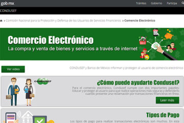 Presenta Condusef micrositio de eCommerce