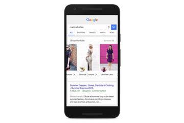 Google permitirá 'comprar el look'