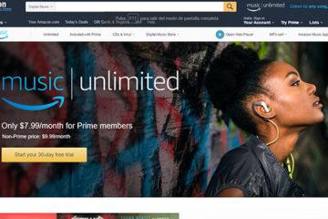 Llega el nuevo servicio de música de Amazon