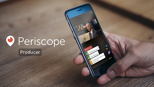Twitter anuncia Periscope Producer