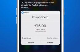Lanza PayPal pagos con Siri