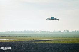 Amazon realiza primera entrega con un dron