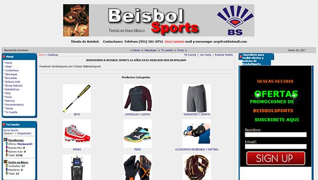 Beisbol Sports: opiniones y comentarios