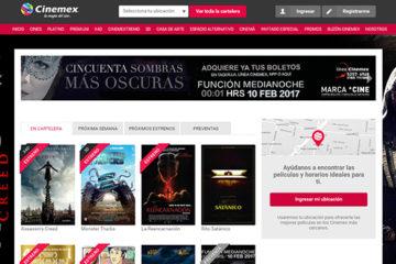 Cinemex: opiniones y comentarios