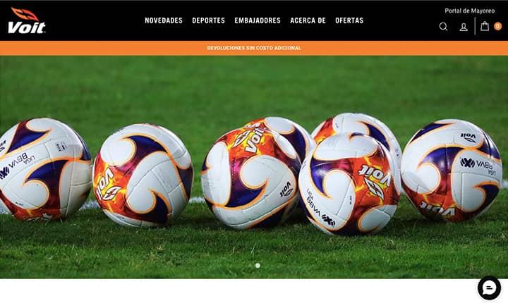 eCommerce de deportes